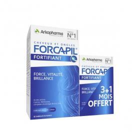 ARKOPHARMA Forcapil cheveux et ongles 180 gélules + 60 gélules offertes