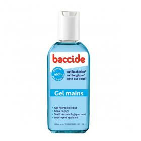 BACCIDE Gel mains antibactérien bleu 30ml