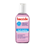 BACCIDE Gel mains antibactérien rose 30ml