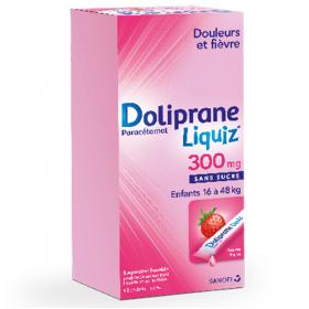 DOLIPRANE Liquiz 300mg 12 sachets