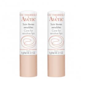 AVÈNE Stick soin lèvres sensibles lot 2x4g