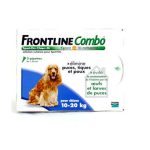 FRONTLINE Combo chiens 10-20kg 3 pipettes
