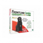 FRONTLINE Combo chiens +40kg 4 pipettes