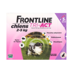 FRONTLINE Tri-act chiens 2-5kg 3 pipettes