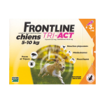 FRONTLINE Tri-act chiens 5-10kg 3 pipettes