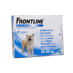 FRONTLINE Spot-on chiens 10-20kg 4 pipettes