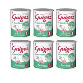 GUIGOZ Croissance fibres 3ème âge lot 6x800g