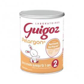 GUIGOZ Pelargon 2ème âge 800g