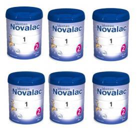NOVALAC 1er âge lot 6x800g