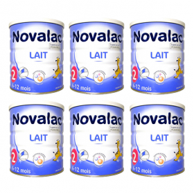 NOVALAC 2ème âge lot 6x800g