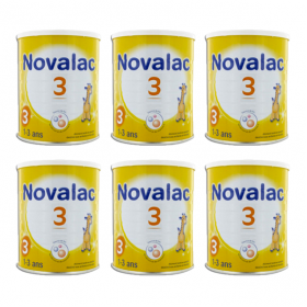 NOVALAC 3ème âge lot 6x800g