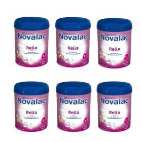 NOVALAC Relia 1er âge lot 6x800g