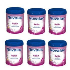 NOVALAC Relia 2ème âge lot 6x800g