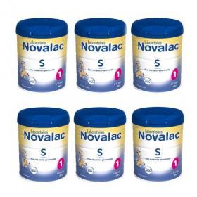 NOVALAC S 1er âge lot 6x800g