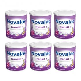 NOVALAC Transit 2ème âge lot 6x800g