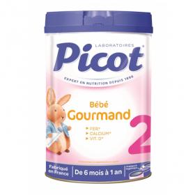 PICOT Bébé gourmand 2ème âge 900g