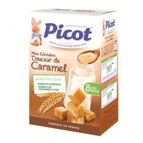 PICOT Mes céréales saveur caramel 400g