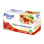 PICOT Maman tisane d'allaitement fruits rouges 20 sachets