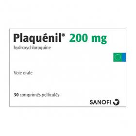 SANOFI Plaquenil 200mg 30 comprimés pelliculés