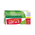 Homéodent soin complet dents et gencives citron lot 2x75ml