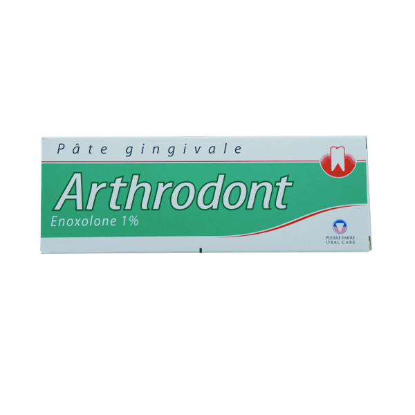 arthrodont dentifrice composition