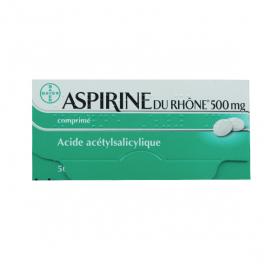 Aspirine du rhône 500mg 50 comprimés