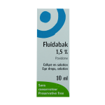 THEA Fluidabak 1,5 % collyre en solution 10ml