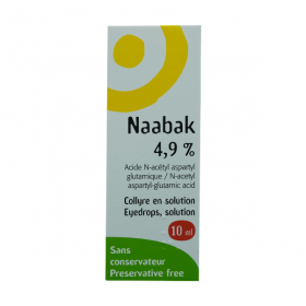 THEA Naabak 4,9% collyre en solution 10ml