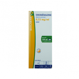 BIOGARAN Oxomemazine 0,33mg/ml sirop 150ml