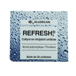 ALLERGAN Refresh collyre 0,4ml en 30 récipients unidoses