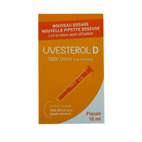 CRINEX Uvesterol D 5000 UI/ml solution buvable flacon 10ml
