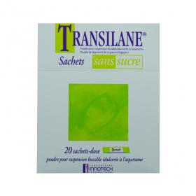 Transilane sans sucre poudre pour suspension buvable édulcorée à l'aspartam 20 sachets-doses