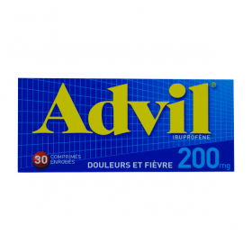 PFIZER Advil 200mg 30 comprimés enrobés