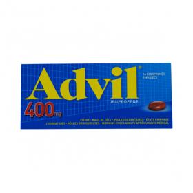 Advil 400mg 14 comprimés enrobés