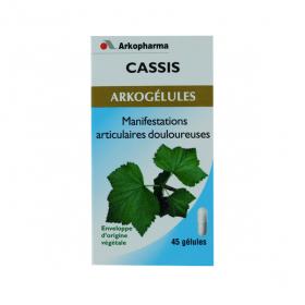 ARKOPHARMA Arkogelules cassis 45 gélules