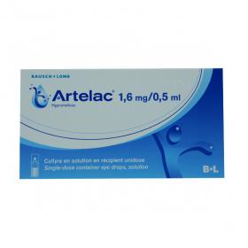 BAUSCH + LOMB LABORATOIRE CHAUVIN Artelac 1,6 mg/0,5 ml collyre en 60 récipients unidoses