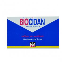 MENARINI FRANCE Biocidan collyre en 10 unidoses