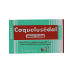 ELERTE Coquelusedal nourrissons 10 suppositoires