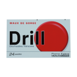 Drill 24 pastilles à sucer