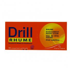 Drill rhume 16 comprimés pelliculés