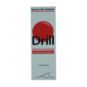 Drill maux de gorge collutoire 40ml