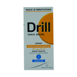 PIERRE FABRE SANTE Drill  toux sèche 15mg/5ml adultes sans sucre sirop 125ml
