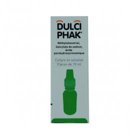 Dulciphak collyre en solution 10ml