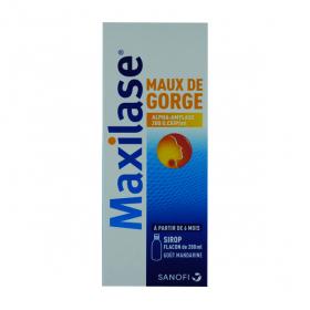 Maxilase maux de gorge sirop 125ml