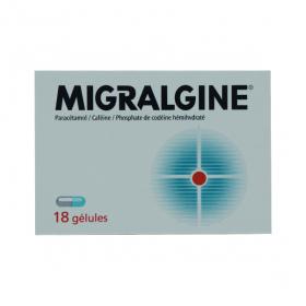 Migralgine 18 gélules