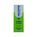 MENARINI FRANCE Multicrom 2 % collyre en solution 10ml