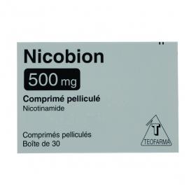 TEOFARMA Nicobion 500mg 30 comprimés pelliculés