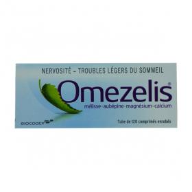 BIOCODEX Omezelis 120 comprimés enrobés