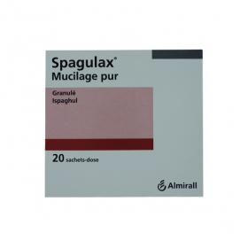 ALMIRALL Spagulax mucilage pur granulés en 20 sachets doses