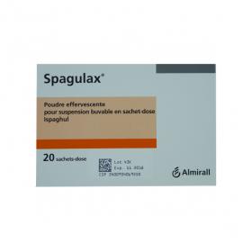 Spagulax poudre effervescente pour suspension buvable en 20 sachets doses